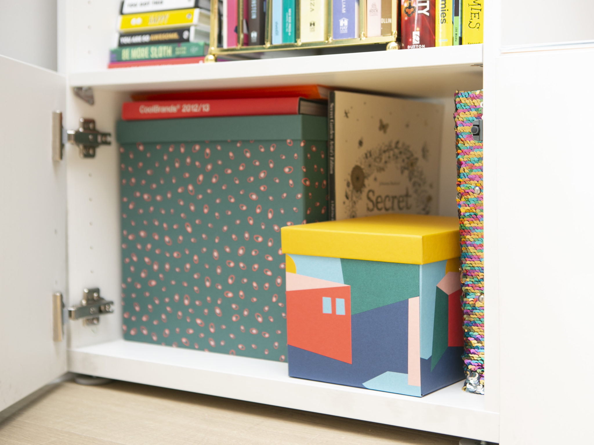 Beautiful storage boxes