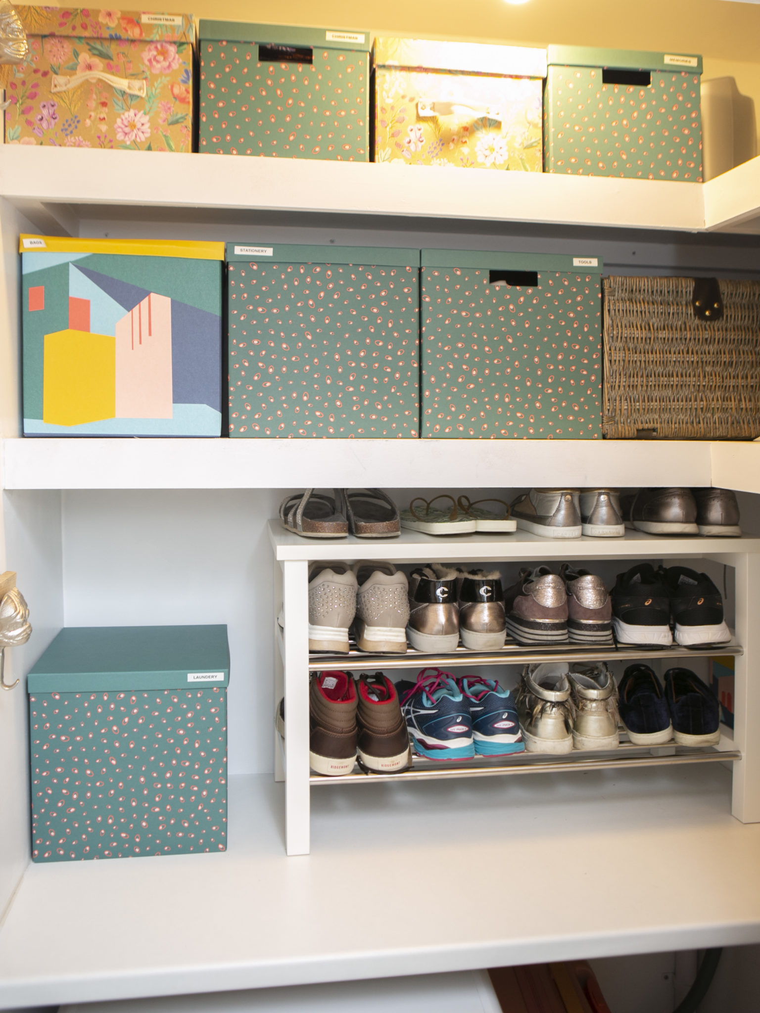Shoe and wardrobe storage