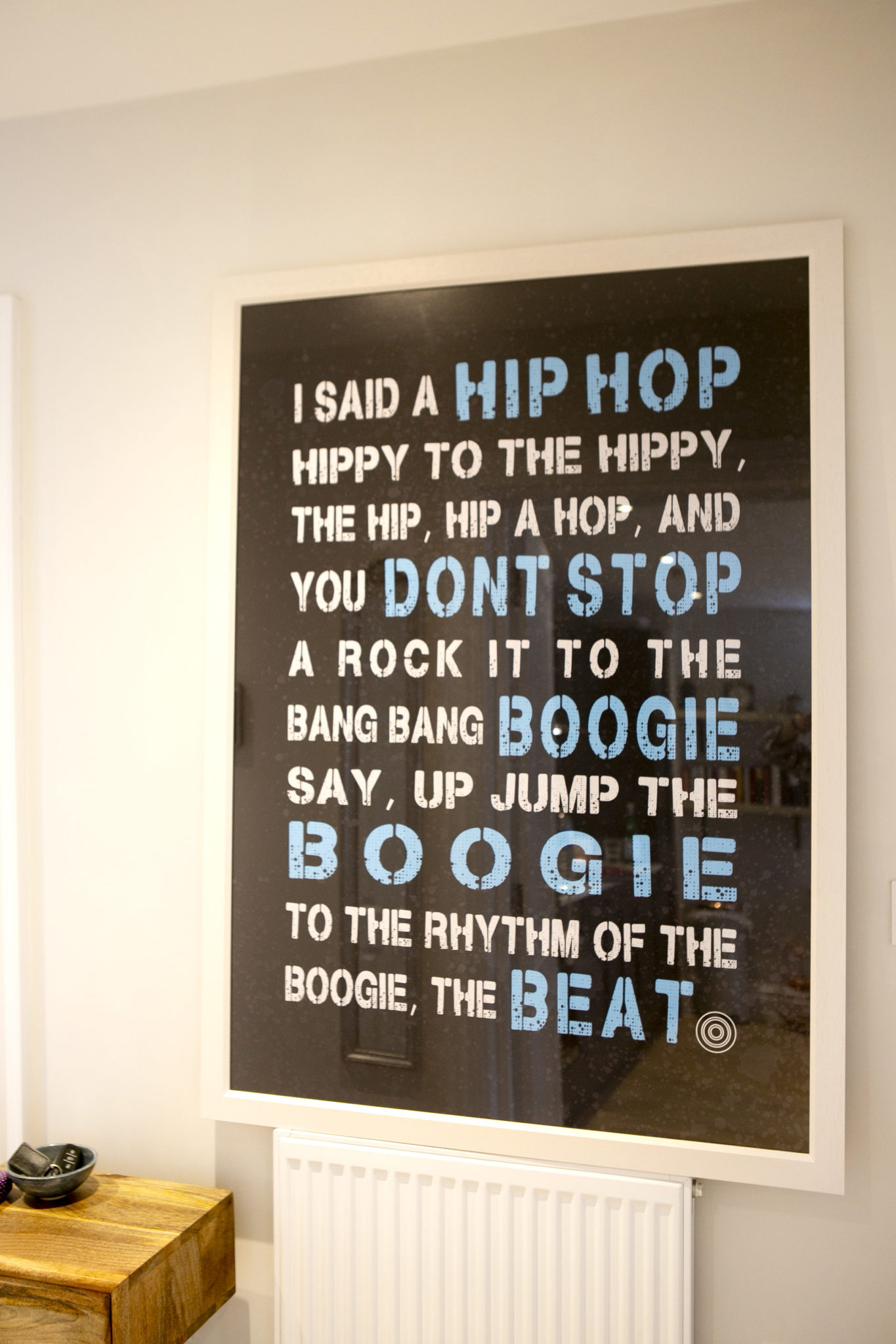 Picture frame Hip Hop Don't Stop